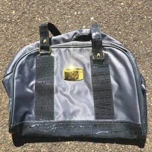 JOY MANGANO Women's Faux Leather Mini Duffle Bag